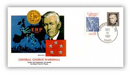 1987 Shapers of America - George Marshall