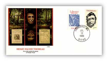 1988 Henry David Thoreau Cover