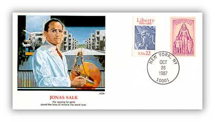 1987 Jonas Salk/Shapers of American Liberty