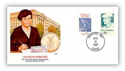 1989 Frances Perkins Cover