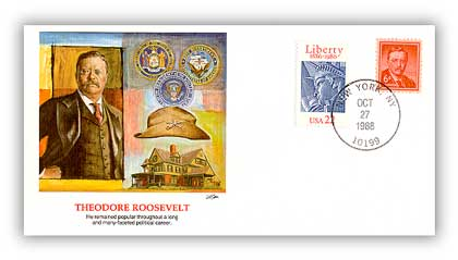 1989 Theodore Roosevelt Cover