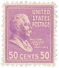 1938 50c Taft, rose