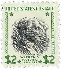 1938 $2 Harding