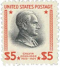 1938 $5 Coolidge