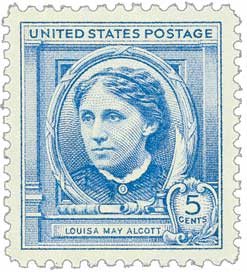 1940 5c Louisa May Alcott