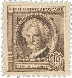 1940 10c Samuel L. Clemens