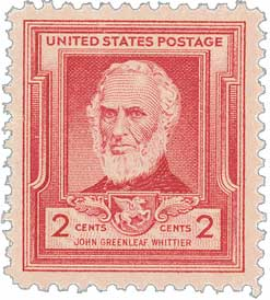 1940 2c John Greenleaf Whittier