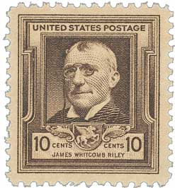 1940 10c James Whitcomb Riley