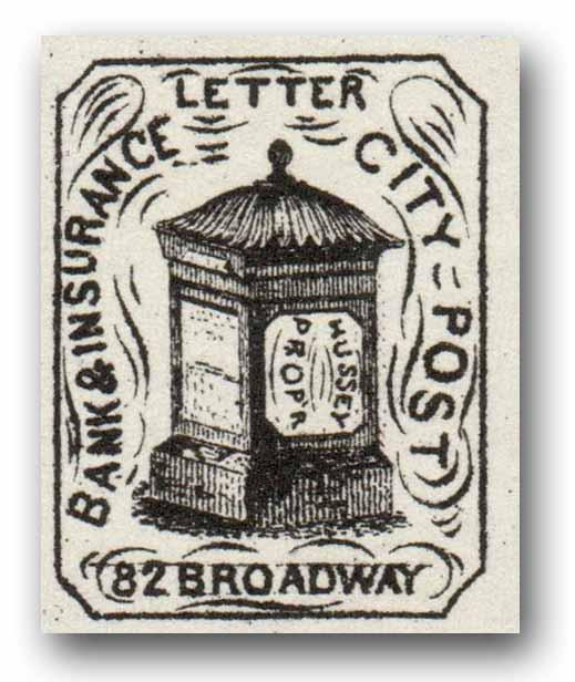 1863 1c black