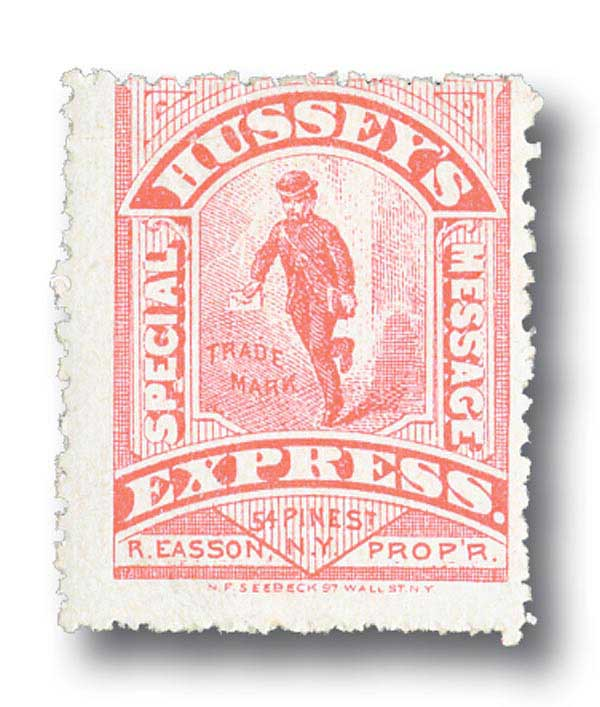 1880 red type II,glazed surface,perf 12