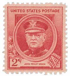1940 Famous Americans: 2c John Philip Sousa