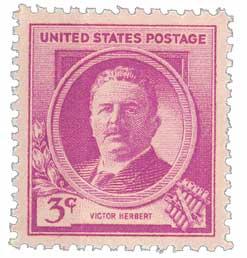 1940 Famous Americans: 3c Victor Herbert