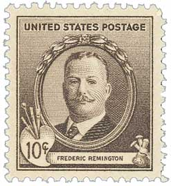 1940 10c Frederic Remington