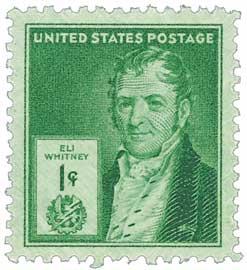 1940 Famous Americans: 1c Eli Whitney
