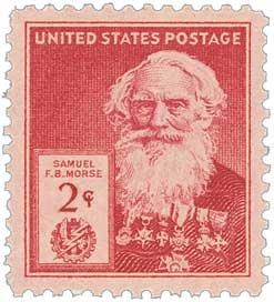1940 Famous Americans: 2c Samuel Morse
