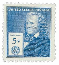 1940 Famous Americans: 5c Elias Howe