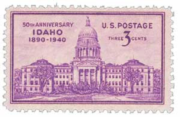 1940 3c Idaho Statehood