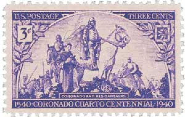 Coronado Expedition stamp