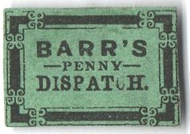 1855 3c black green