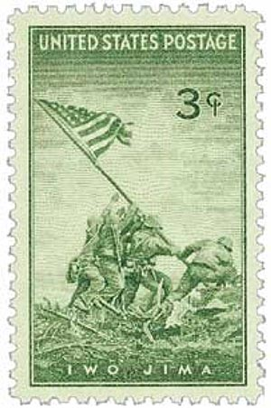 1945 3c US Armed Forces: Iwo Jima