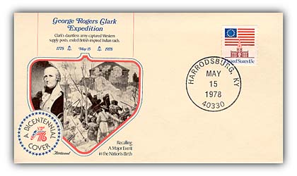 George Rogers Clark Commemorative Cover