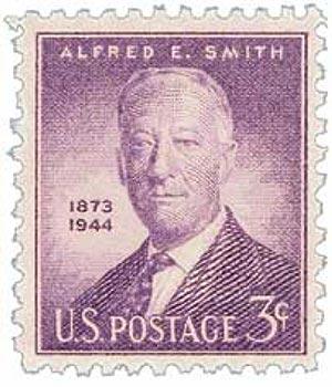 1945 3c Alfred E. Smith