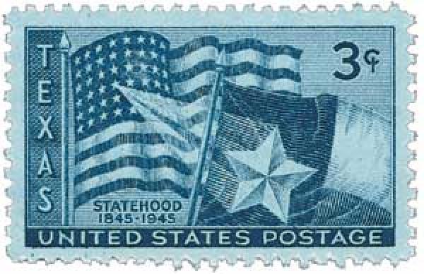 1945 3c Texas Statehood