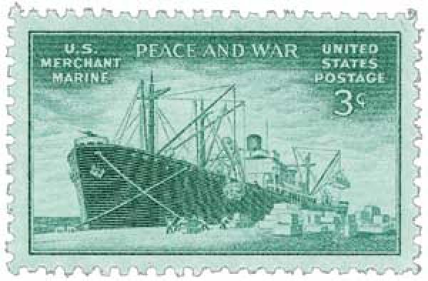 1946 3c US Armed Forces: Merchant Marine