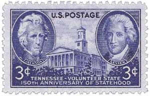 1946 3c Tennessee Statehood