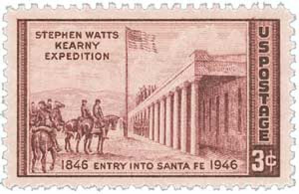 1946 3c Kearny Expedition into New Mexico