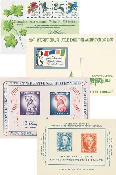 1947-78 Souvenir Sheets