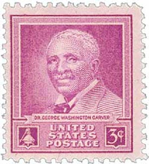 1948 3c George Washington Carver