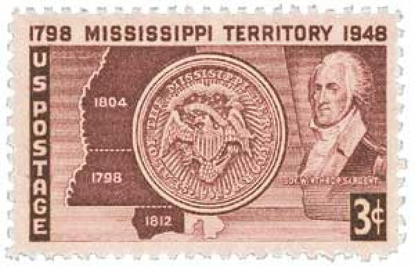 1948 3c Mississippi Territory