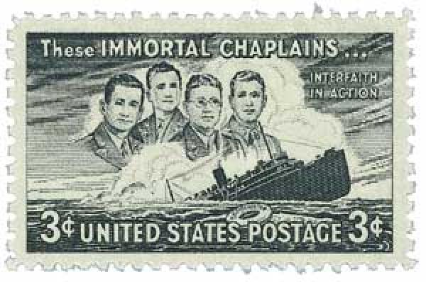 1948 3c Four Chaplains