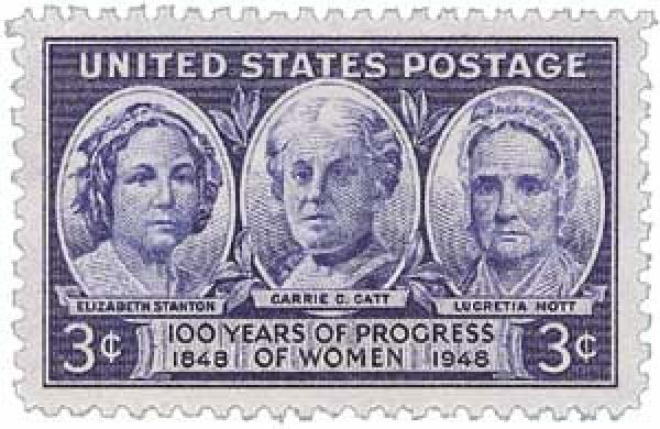 1948 3c 100 Years of Progress of Women