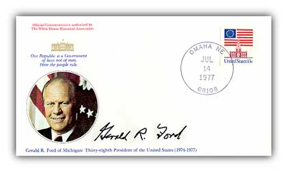 1977 Gerald Ford Commemorative Cover
