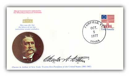 Item #96127 – Commemorative cover marking Arthur's 148th birthday.