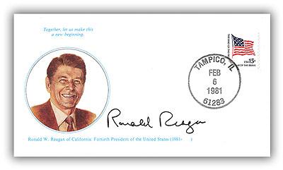 1981 Ronald Reagan Cover