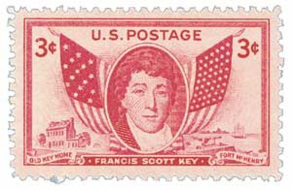 1948 3c Francis Scott Key