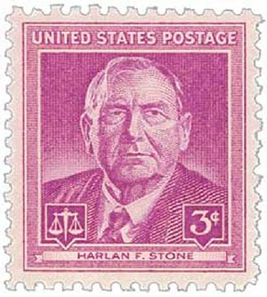 1948 3c Harlan F. Stone