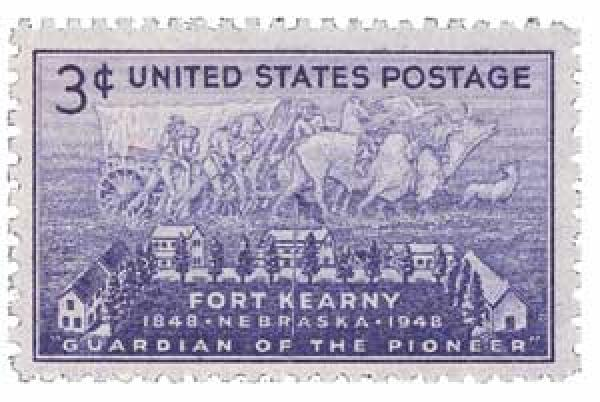 1948 3c Fort Kearny Centenary