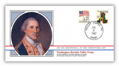 1987 Washington Revisits Valley Forge