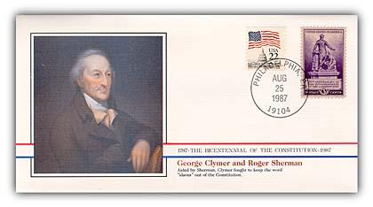 1987 George Clymer & Roger Sherman