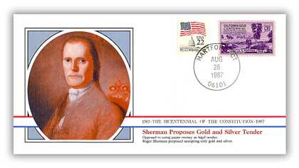 1987 Sherman Proposes Gold & Silver as Tender