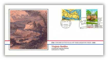 1988 Virginia Ratifies the Constitution