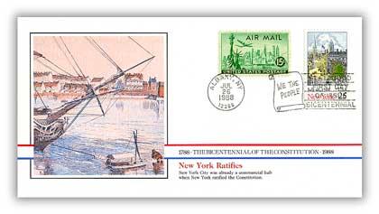 1988 New York Ratifies Constitution