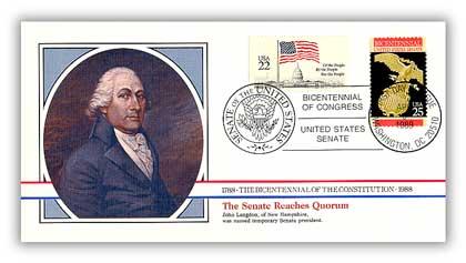 1989 The Senate Reaches Quorum