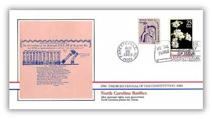 1989 North Carolina Ratifies the Constitution