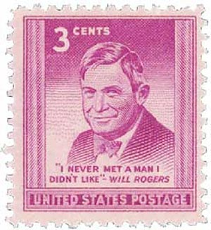 U.S. #975 was issued on Rogers' 69th birthday.