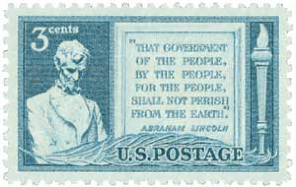 1948 3c Gettysburg Address